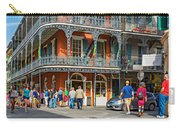 French Quarter Wandering 3 Carry-all Pouch