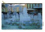 French Quarter Water Fountain Carry-all Pouch