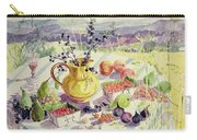 French Table Carry-all Pouch by Elizabeth Jane Lloyd