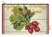 French Vegetable Sign 1 Carry-all Pouch by Debbie DeWitt