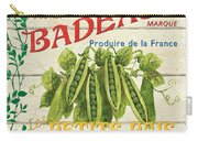 French Veggie Sign 1 Carry-all Pouch by Debbie DeWitt