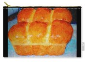 Fresh Baked Bread Three Bun Loaf Carry-all Pouch