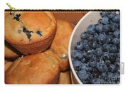 Fresh Blueberries And Muffins Carry-all Pouch
