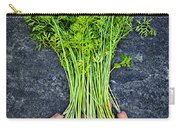 Fresh Carrots From Garden Carry-all Pouch by Elena Elisseeva