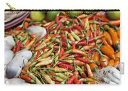Fresh Chili Peppers Carry-all Pouch
