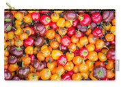 Fresh Colorful Hot Peppers Carry-all Pouch