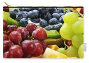 Fresh Fruits And Cheese Carry-all Pouch by Elena Elisseeva