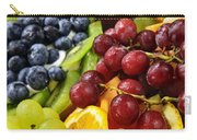 Fresh Fruits Carry-all Pouch by Elena Elisseeva