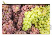 Fresh Grapes On Display Carry-all Pouch