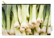Fresh Leeks Carry-all Pouch