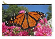 Fresh Monarch Butterfly Carry-all Pouch