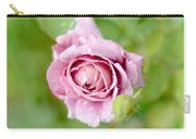 Fresh Morning Rose Carry-all Pouch