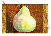Fresh N Happy Pear Decorative Collage Carry-all Pouch