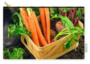 Fresh Picked Healthy Garden Vegetables Carry-all Pouch
