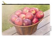 Fresh Red Apples Carry-all Pouch