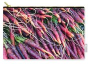 Fresh Red Carrots Carry-all Pouch