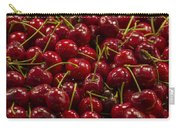Fresh Red Cherries Carry-all Pouch