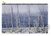 Fresh Snowfall And Bare Trees Carry-all Pouch