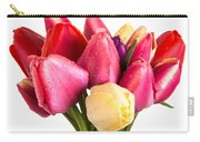 Fresh Spring Tulip Flowers Carry-all Pouch