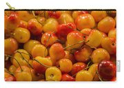 Fresh Yellow Cherries Carry-all Pouch