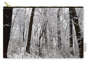 Freshly Fallen Snow Carry-all Pouch