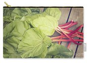 Freshly Picked Rhubarb Carry-all Pouch