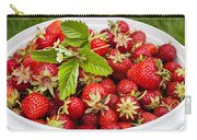Freshly Picked Strawberries Carry-all Pouch