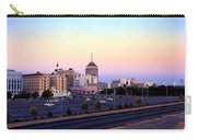 Fresno Skyline Into The Evening Carry-all Pouch