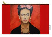 Frida Kahlo Carry-all Pouch by Elena Day