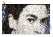 Frida Kahlo Mosaic Carry-all Pouch