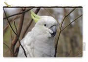 Friendly Cockatoo Carry-all Pouch