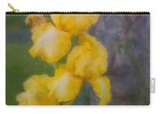 Friendly Yellow Irises Carry-all Pouch