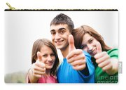 Friends Showing Thumb Up Sign Carry-all Pouch
