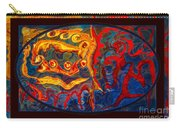 Friendship And Love Abstract Healing Art Carry-all Pouch