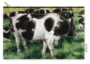 Friesian Cows Carry-all Pouch
