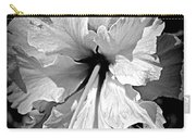 Frills And Hibiscus Flowers Carry-all Pouch