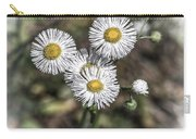 Fringed Daisy Carry-all Pouch