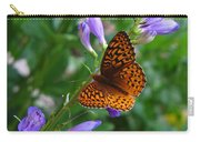 Fritillary Butterfly Carry-all Pouch