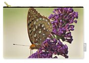 Fritillary Butterfly On Buddleia Carry-all Pouch