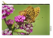 Fritillary Butterfly Square Format Carry-all Pouch
