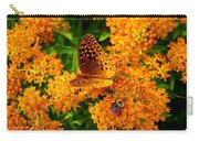 Fritillary On Butterfly Weed Carry-all Pouch
