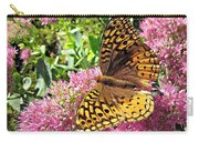 Fritillary On Meteor Carry-all Pouch