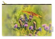 Fritillary On Thistle Carry-all Pouch