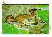 Frog  Abby Aldrich Rockefeller Garden Carry-all Pouch