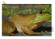 Frog At Night Carry-all Pouch