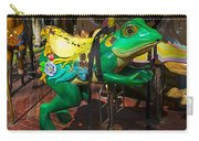 Frog Carrousel Ride Carry-all Pouch