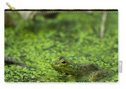 Frog In Swamp 2 Of 3 Carry-all Pouch