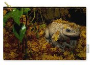 Frog In The Fall Carry-all Pouch