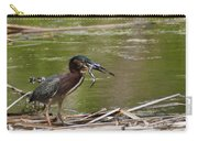 Frog Legs And Green Heron Carry-all Pouch