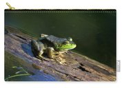 Frog On A Log Carry-all Pouch